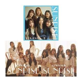 GFRIEND Japan 2nd Single Album SUNRISE