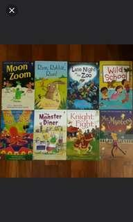 New Usborne Book Set (8 titles)