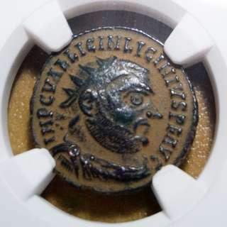 🚚 NGC Ancient Roman Coin, Desert Patina 321 - 324 AD CH VF