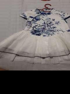 Preloved CNY Tutu dress #MMAR18
