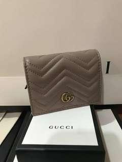 Authentic Gucci GG Marmont Small Wallet