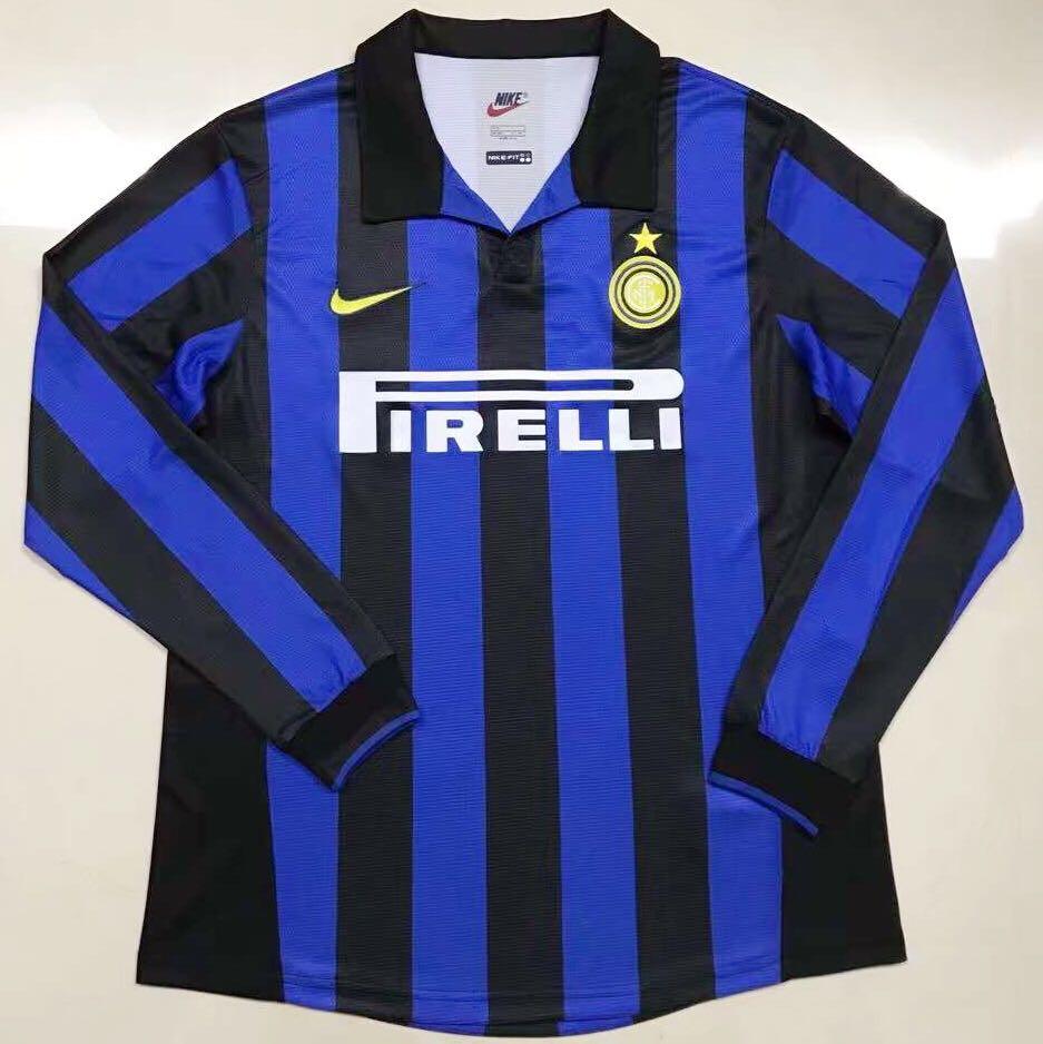 release date: 31c47 e90d3 98/99 Inter Milan long sleeve retro kits