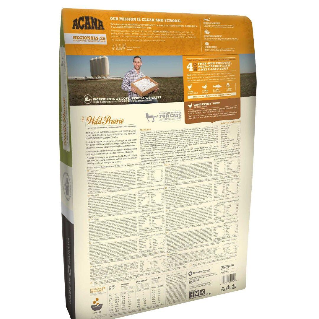 Acana Regionals 地域素材 無穀物貓糧 - 牧場貓 1.8kg