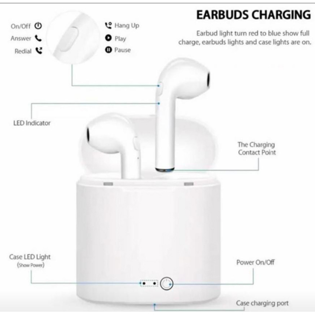 2ca40070483 Apple iphone bluetooth wireless ear pieces airpods, Mobile Phones ...