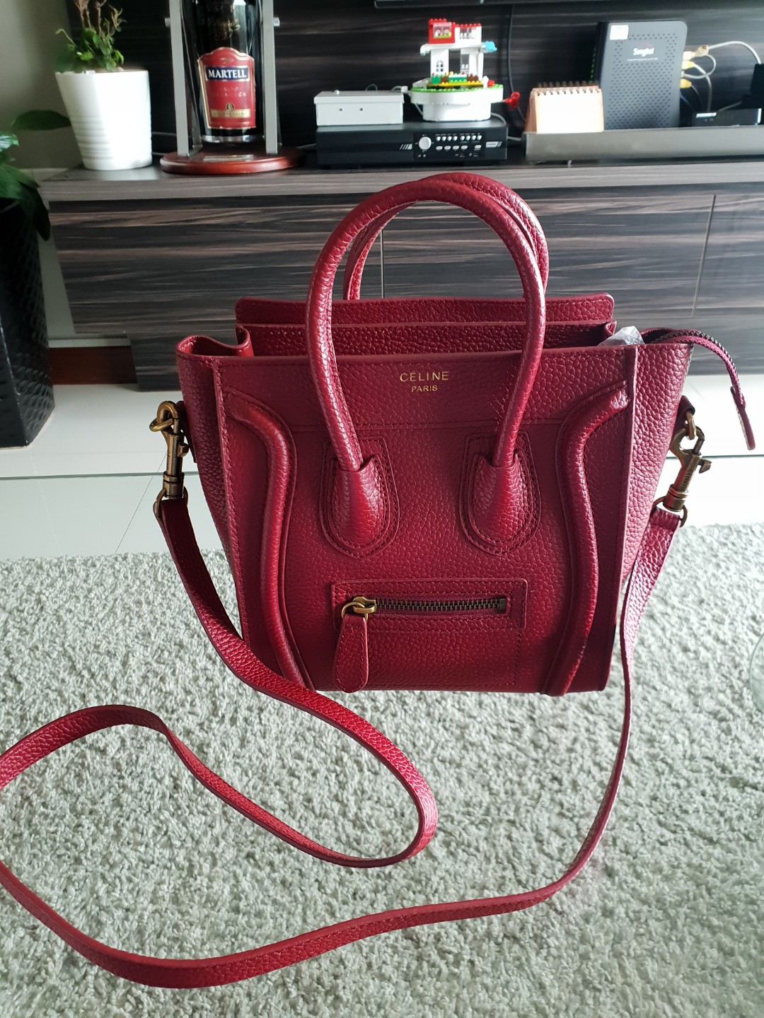 4554af308a Authentic celine nano mini sling bag