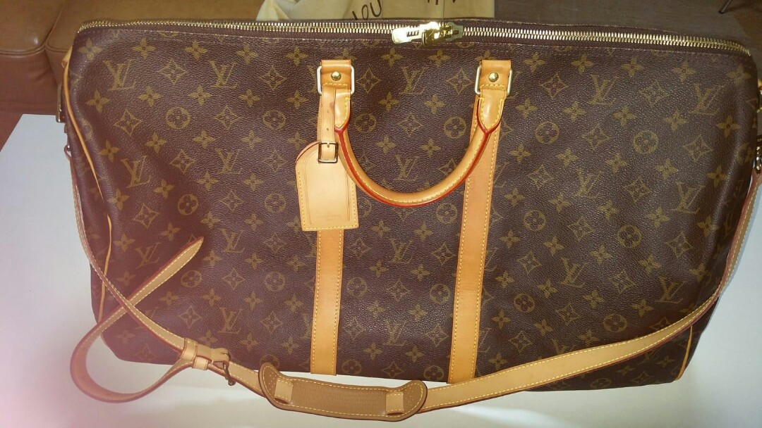 aa20833458dd Authentic Louis Vuitton Keepall Bandouliere 55 Bag