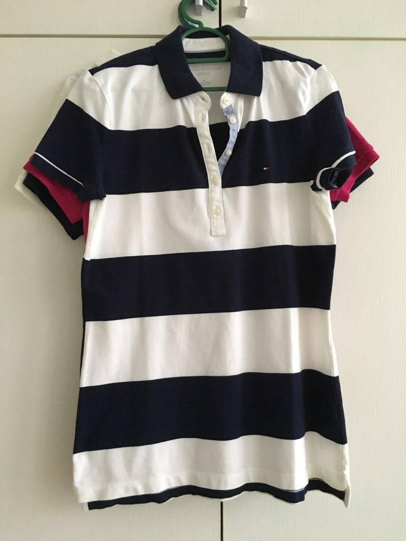 66749e66 Authentic Tommy Hilfiger Polo Tee, Women's Fashion, Clothes, Tops on ...