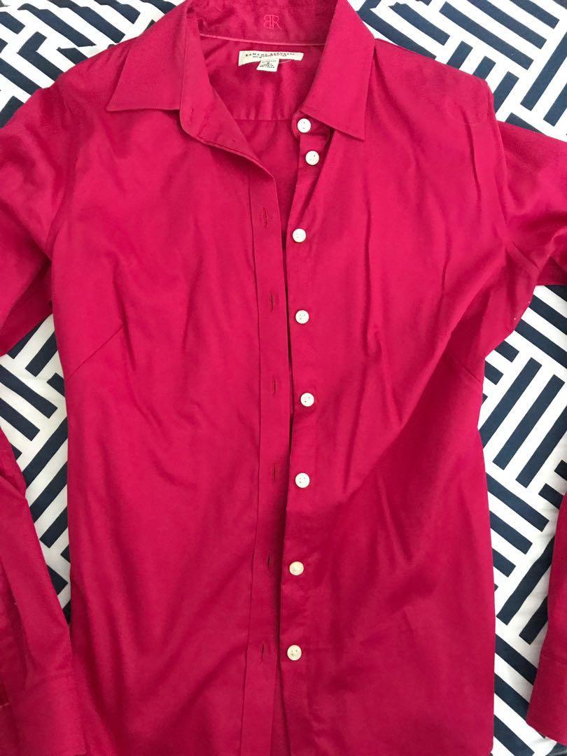Banana Republic size 6/medium women's fitted shirt
