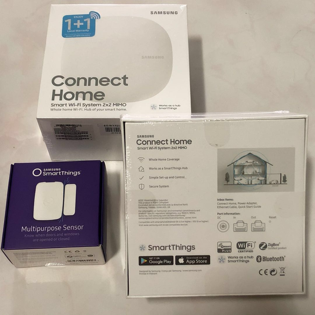 BNIB Samsung Connect Home, Electronics, Others on Carousell
