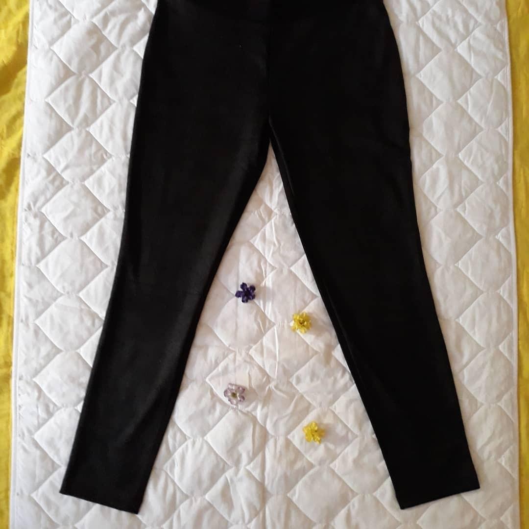 Celana Legging Panjang Mosimo Polos Hitam Olah Raga Baju Olahraga Di Carousell