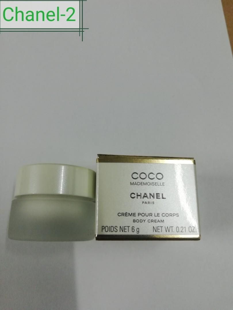 Chanel-2 Coco Mademoiselle body cream 6g