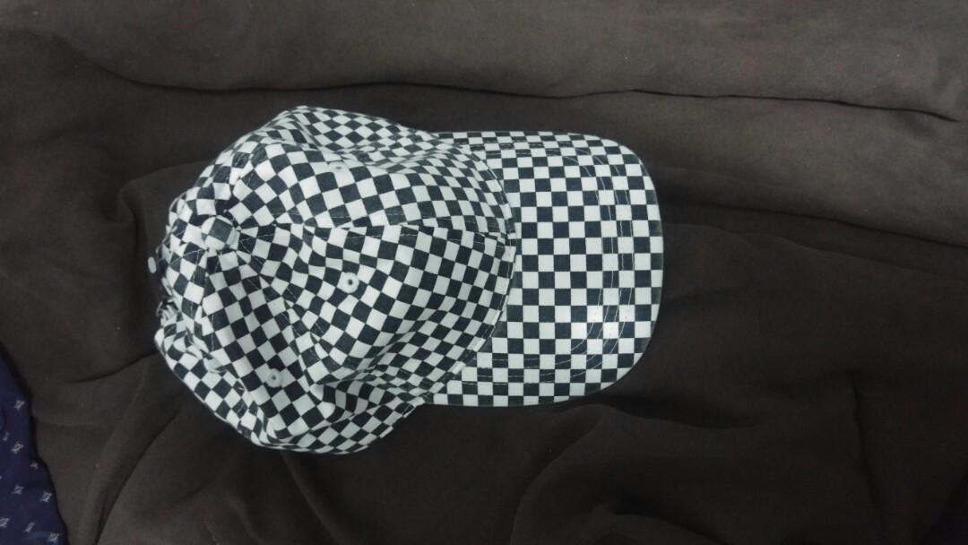 Checkerboard baseball hat from Hollister