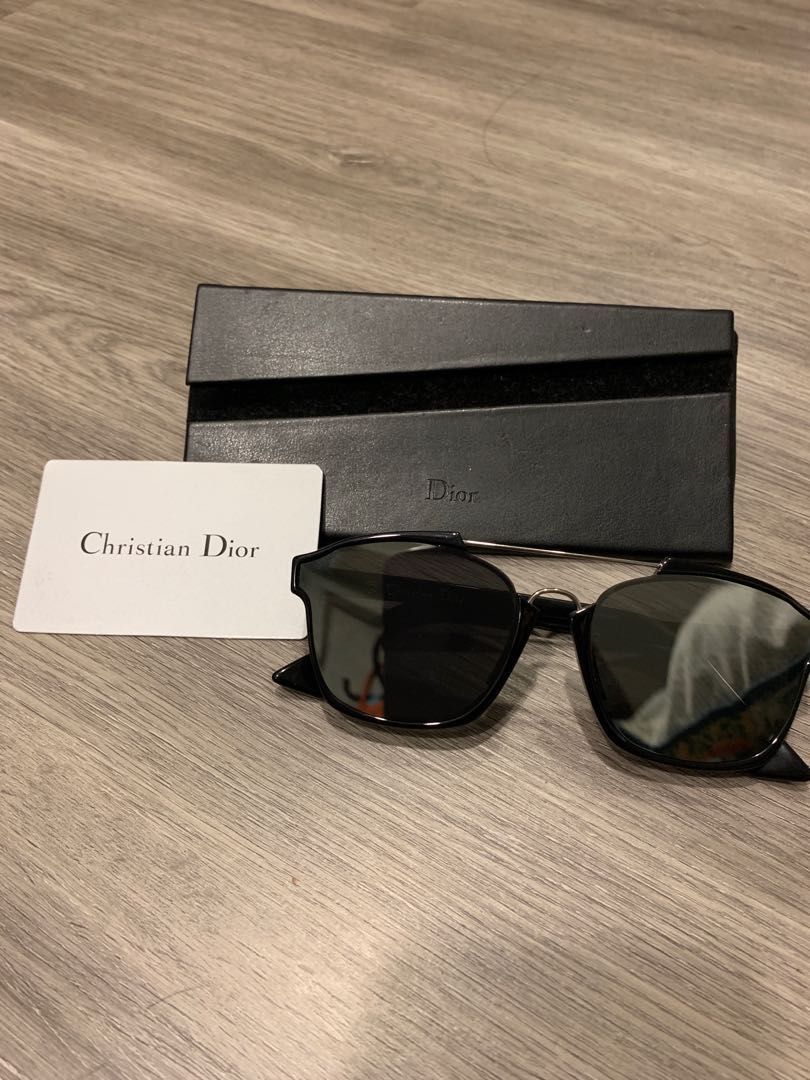 e95104661dc67 Christian Dior Abstract Sunglass- Black