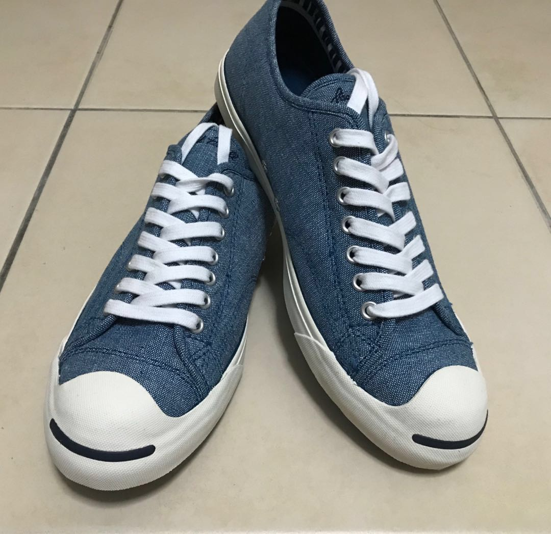 cbc61810d634 Converse Jack Purcell -  Blue Lagoon