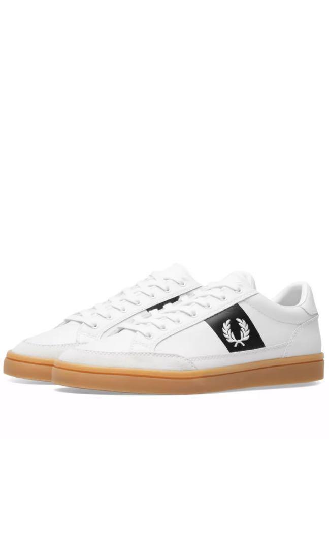 4f07c219a361e Fred Perry Deuce Leather Suede Sneaker, Men's Fashion, Footwear ...
