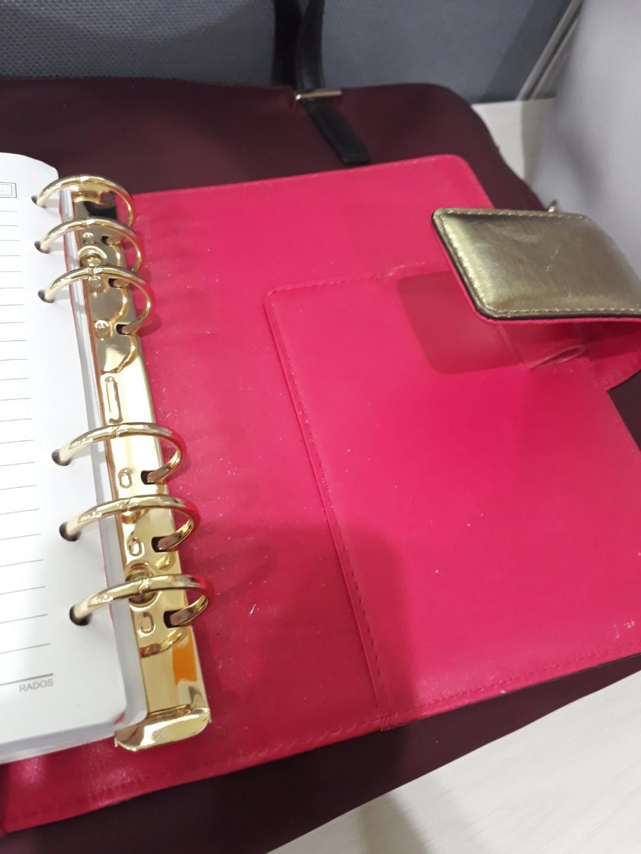 Kate Spade Debra Pink Gold Organizer