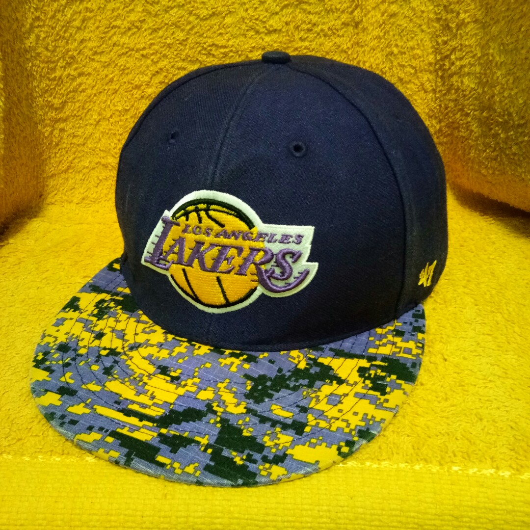e12d87964c7af4 Lakers cap, Men's Fashion, Accessories, Caps & Hats on Carousell