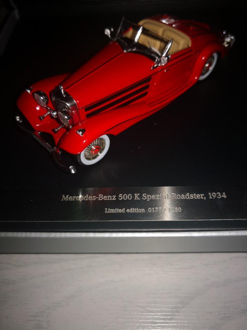 Limited Edition Mercedes Benz Replica Car