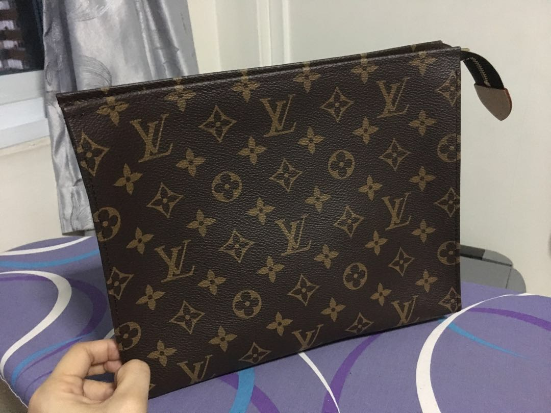 7cbc44eff67 Louis Vuitton Toiletry Pouch 26, Luxury, Bags & Wallets, Clutches on ...