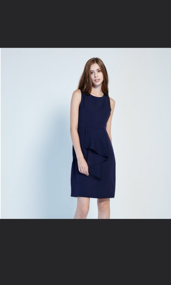 91eb8cb330d6 Lovengold Dress in Navy, Women's Fashion, Clothes, Dresses & Skirts ...