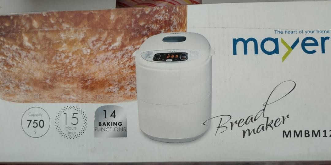 Mayer Bread maker BRAND NEW (MMBM12)