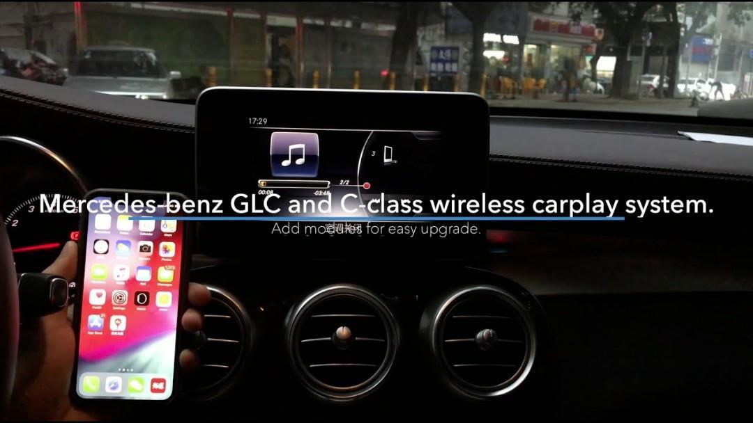 Mercedes Benz NTG4 5 to NTG 5 1 wireless carplay, Car
