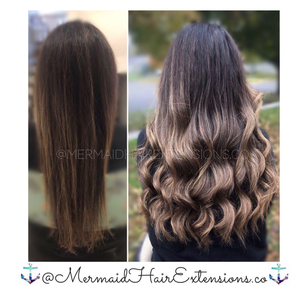 •MERMAID HAIR EXTENSIONS• Reputable trusted services, Book today!