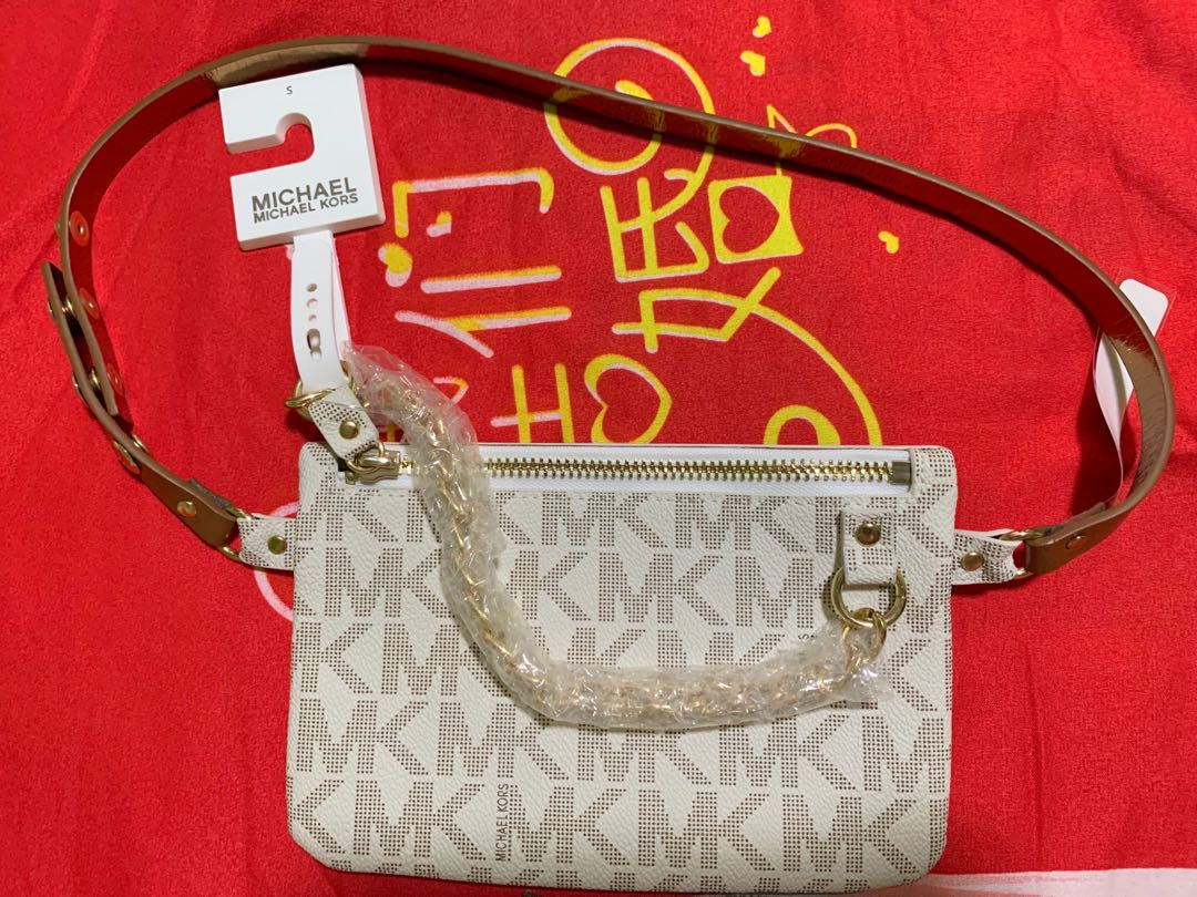 Michael Kors Belt Bag with pull chain 56598a481a07f