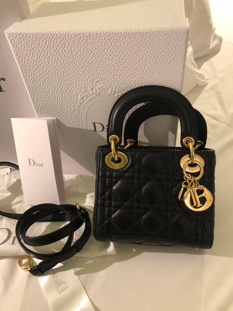 f38908c0e4e Mini Lady Dior, Luxury, Bags & Wallets, Handbags on Carousell