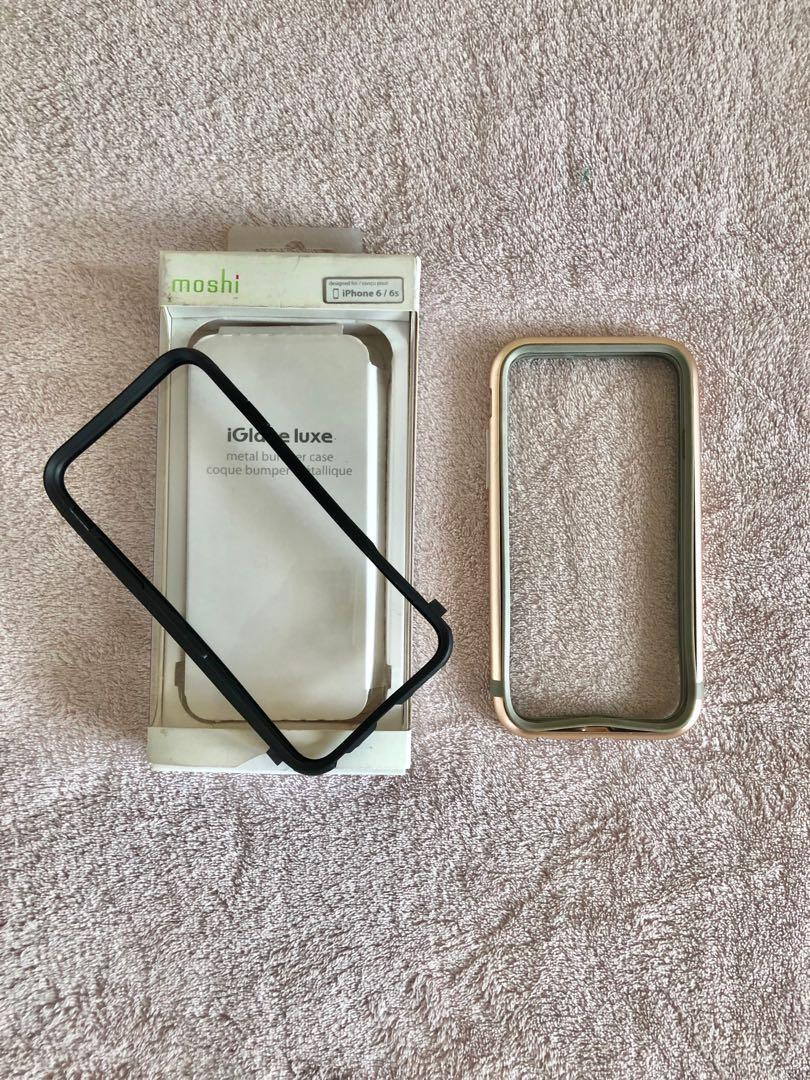 on sale 95d4f eb70e Moshi Metal Bumper Case - iPhone 6/6s on Carousell