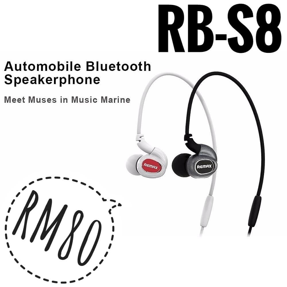 NEW Original Remax Neckband Sports Bluetooth Earphone (Postage Only)