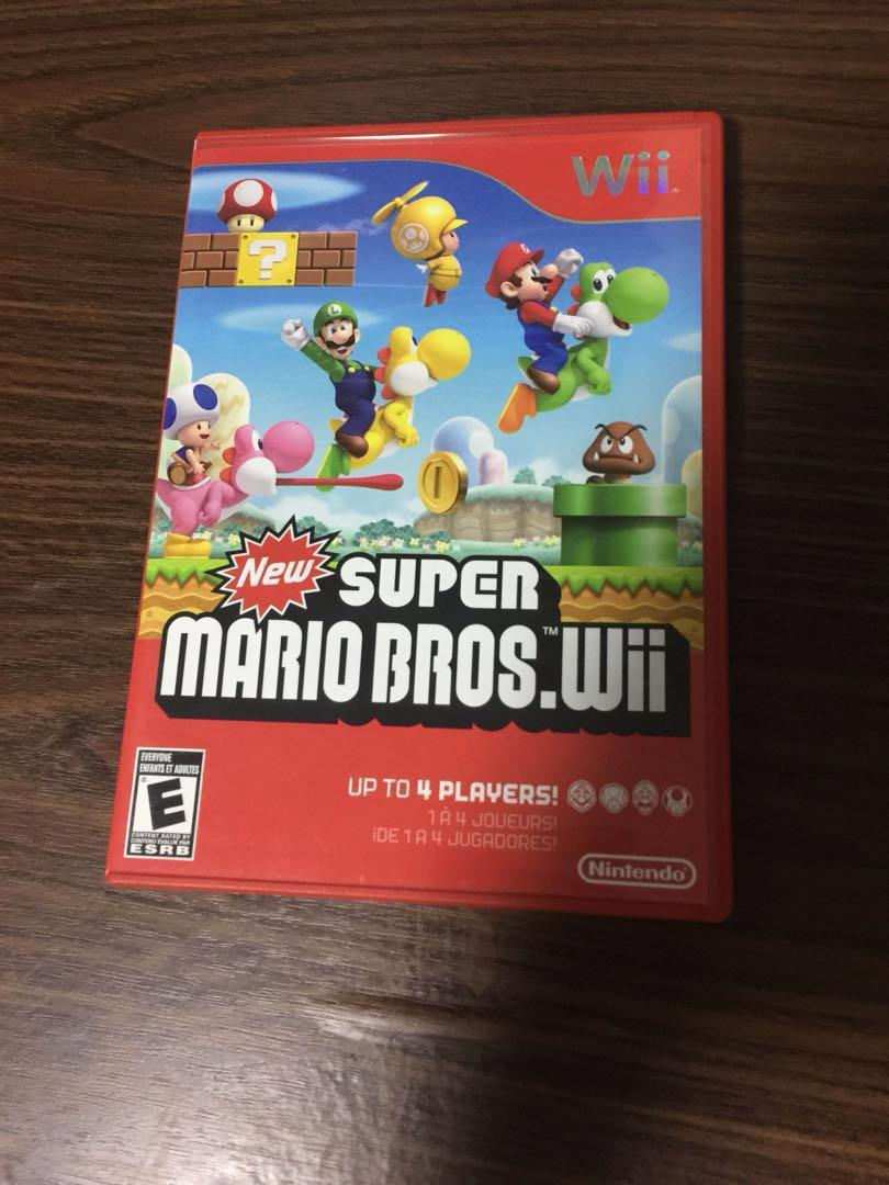 New Super Mario Bros Wii, Toys & Games, Video Gaming, Video