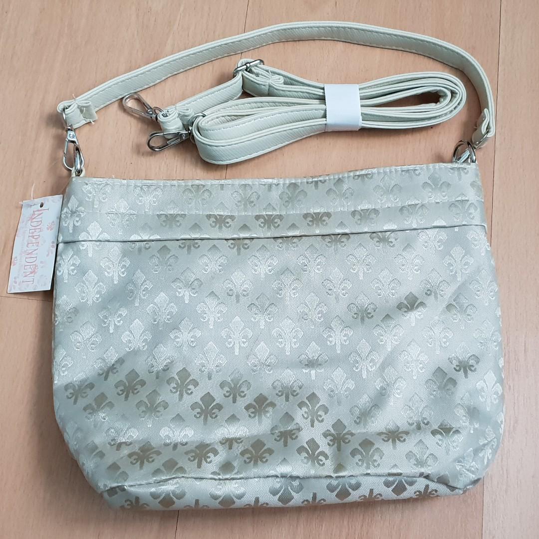 New with Tag Silver Women Sling Bag Handbag
