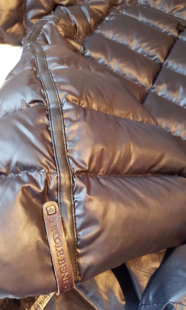 Nicole Benisti leather jacket. Wore only one time. Reason I'm selling for it's small for me. Size M