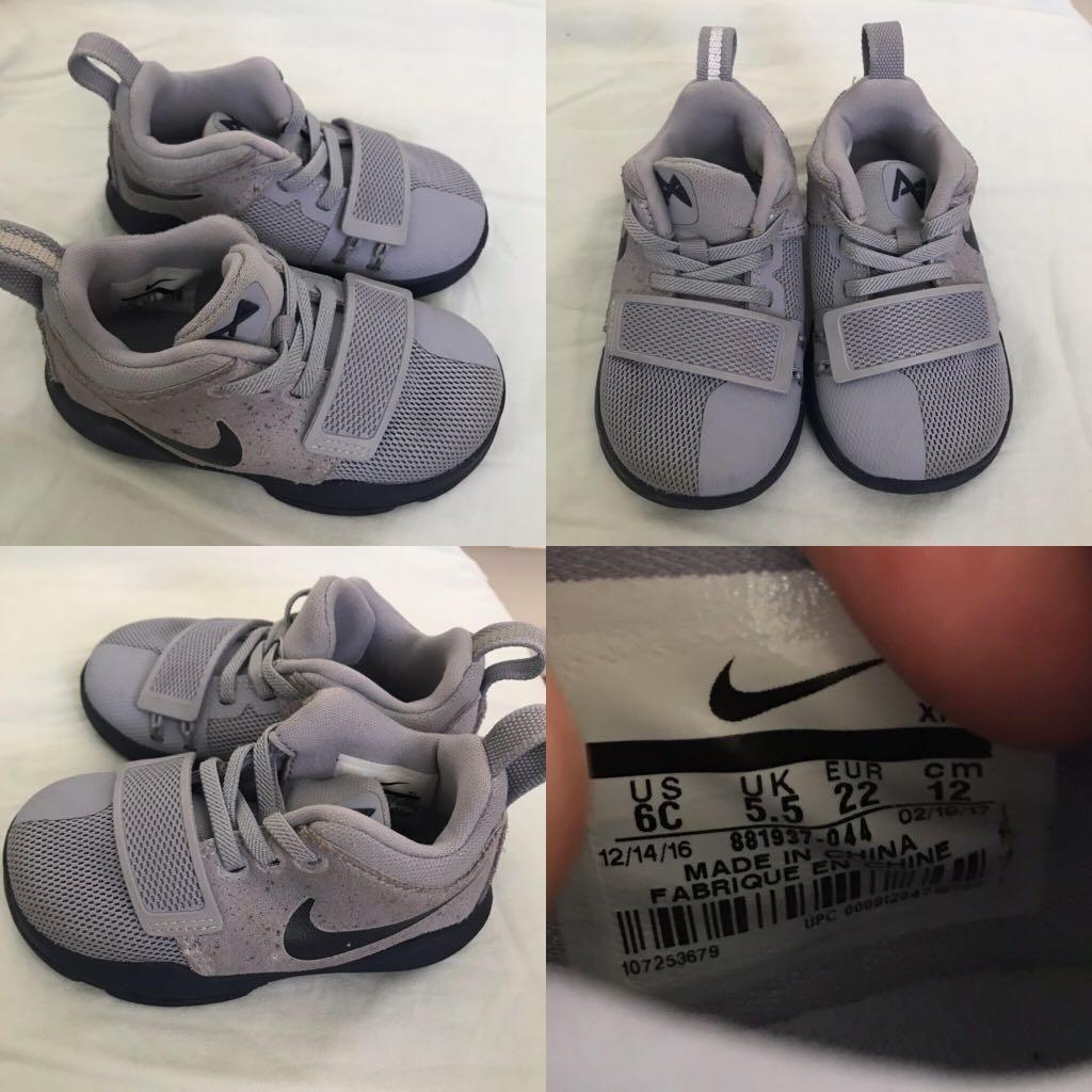 sports shoes 5a3c4 4c4b6 Nike Paul George shoes for toddler, Babies & Kids, Babies ...