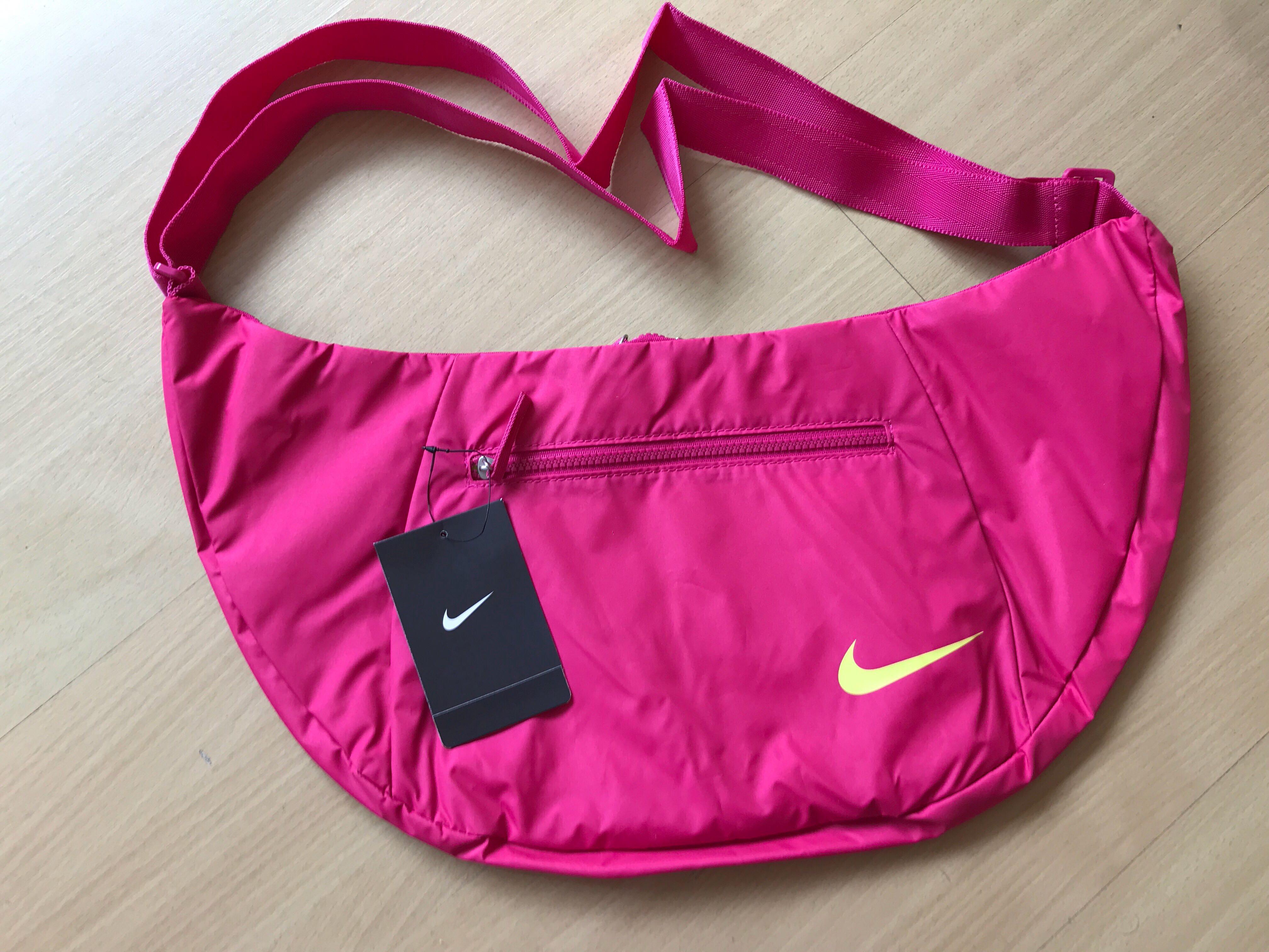 nike sling bag pink