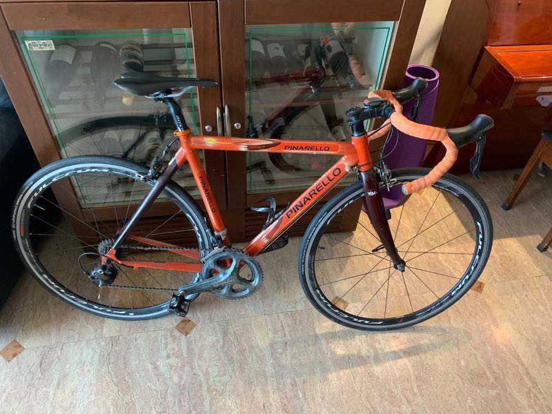 7101c349c1b Pinarello Prince Authentic 50 Cm, Bicycles & PMDs, Bicycles, Road Bikes on  Carousell