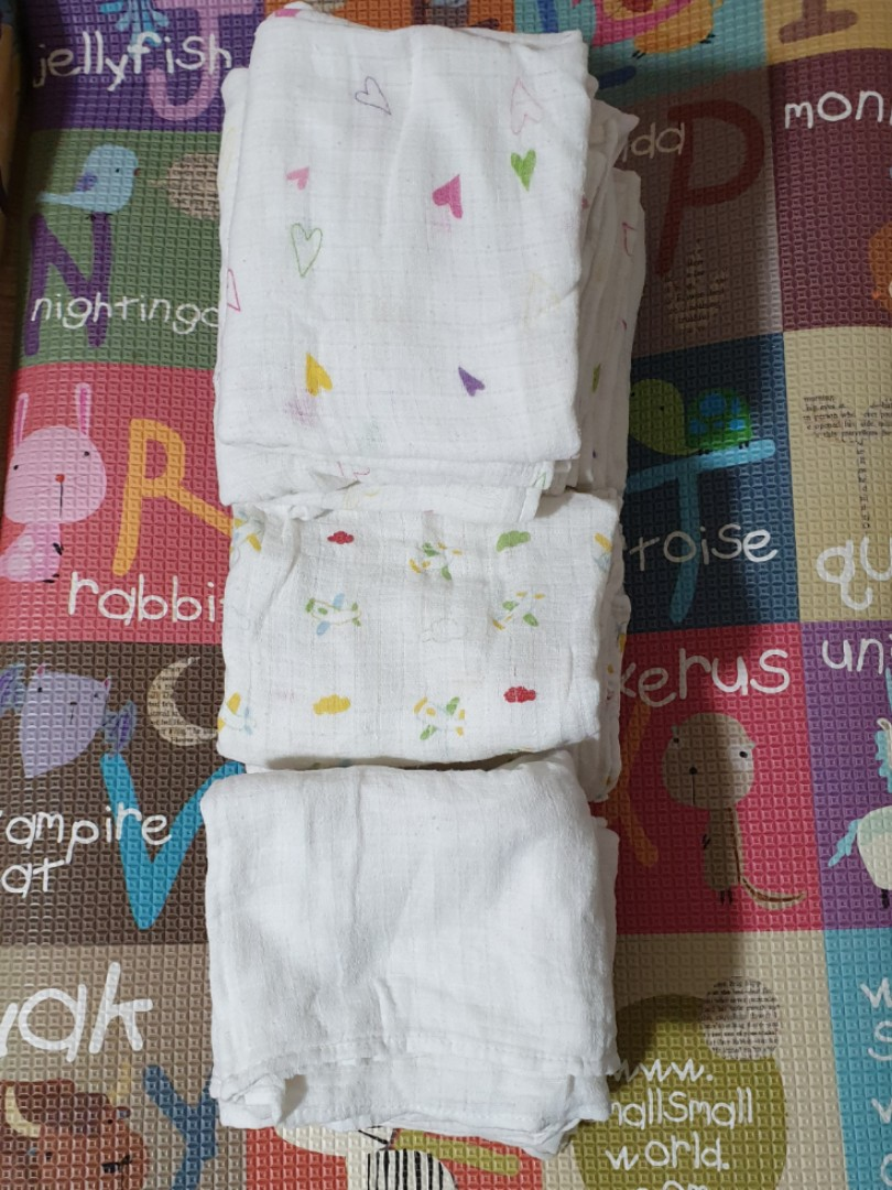 Prefold Cloth Diapers Babies Kids Babies Apparel On Carousell