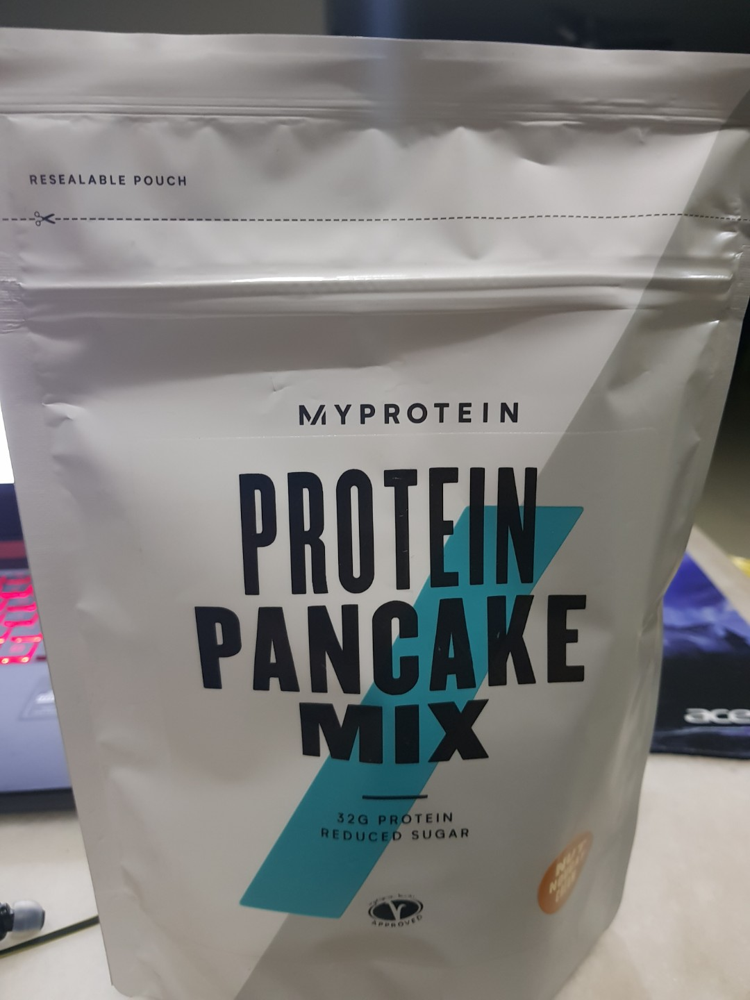 Protein Pancake Mix Myprotein Food Drinks Instant Food On Carousell