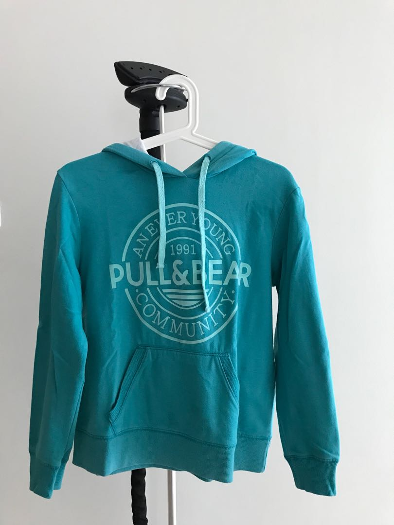 PULL AND BEAR TOSCA HOODIE, Women's Fashion, Women's Clothes, Outerwear on Carousell