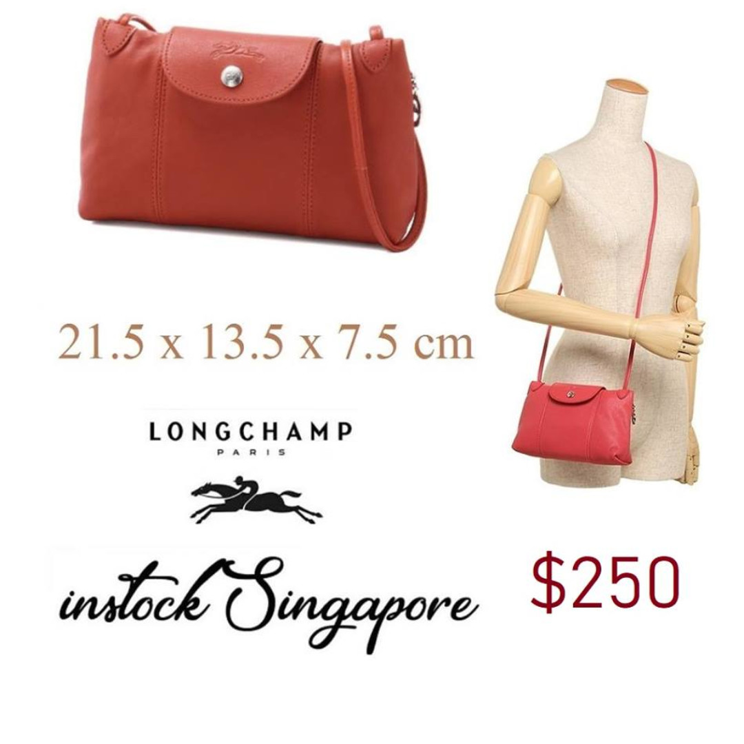 READY STOCK authentic new LONGCHAMP LE PLIAGE CUIR CROSS BODY ... 270399206a7cd