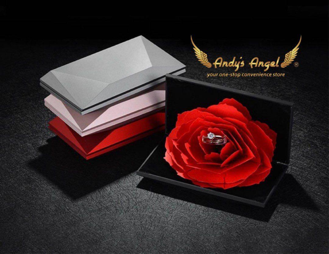 Rose Ring Case
