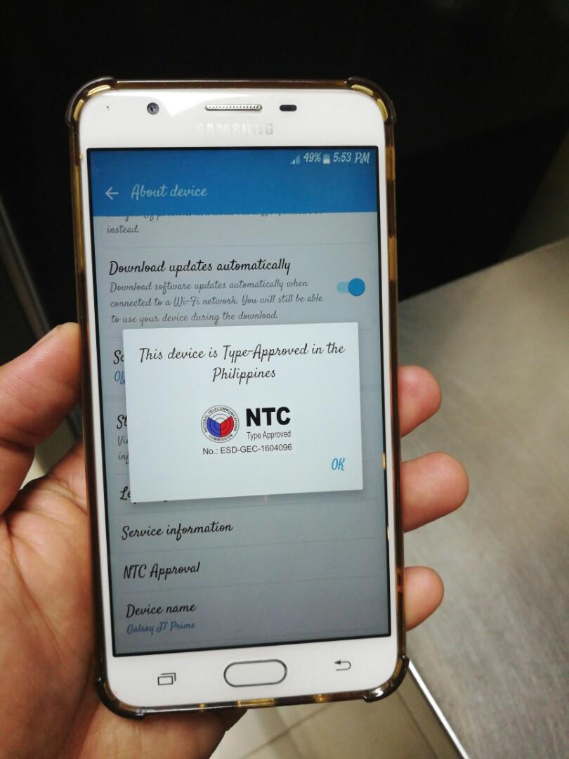 Software Update Samsung J7 Prime