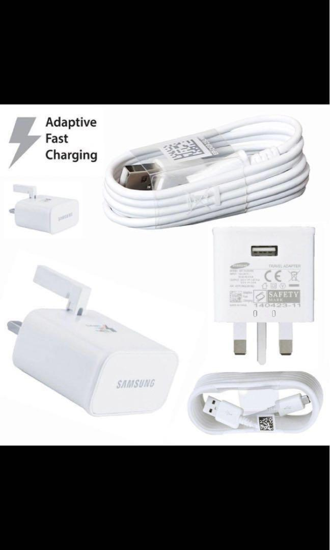 Samsung Fast Adaptive Charger + Cable(Note 8)