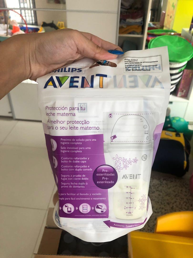 SEMUA botol asi & avent milk storage (BPA free)
