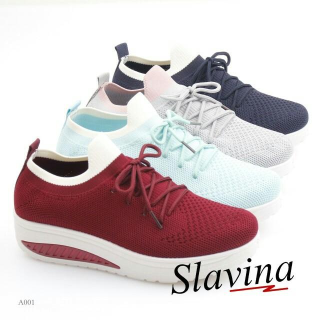 SLAVINA SNEAKERS A001  Sepatu Fashion Wanita Impor Murah 17fbe92eb9