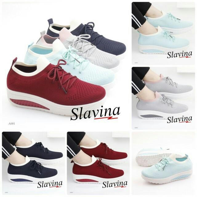 SLAVINA SNEAKERS A001  Sepatu Fashion Wanita Impor Murah 3430d2065a