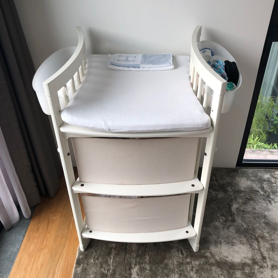 Stokke Care Changing Table White Babies Kids Cots Cribs On Carousell