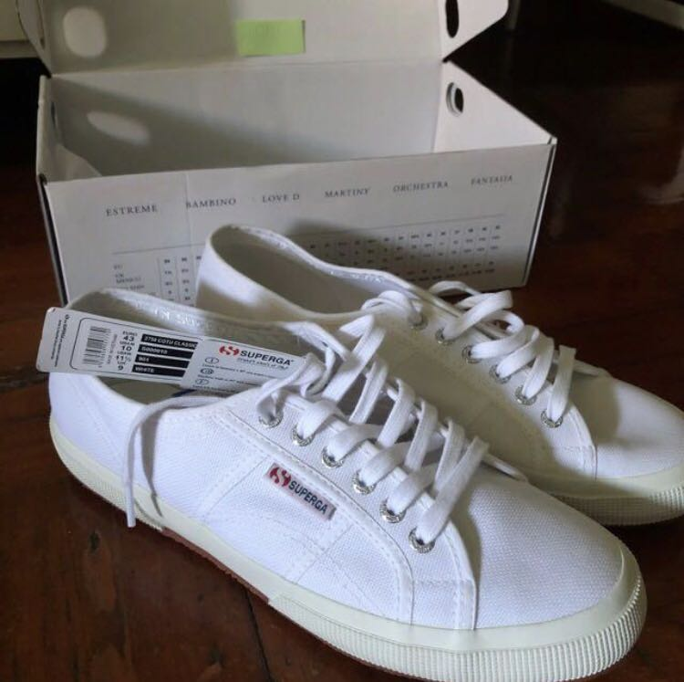 ded2ab86db1a Superga 2750 Classic Canvas in White