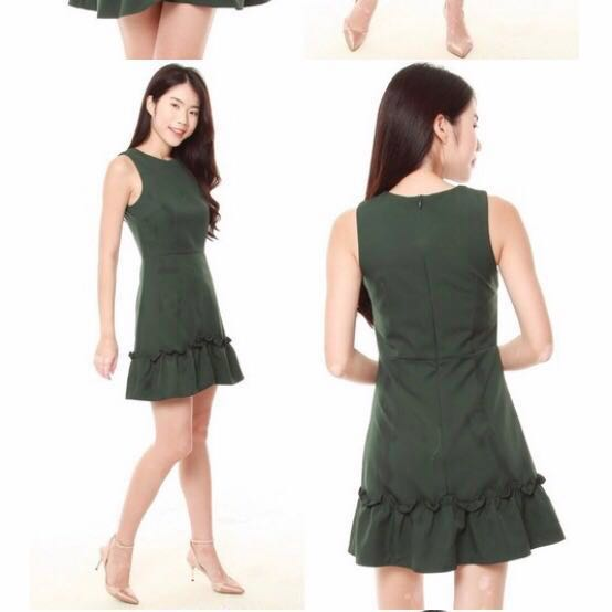 c56599cfb6bd The J Label Erica ruffled , Women's Fashion, Clothes, Dresses ...